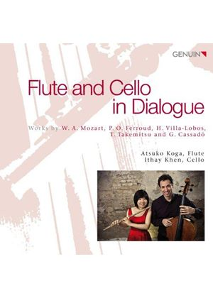 Flute and Cello in Dialogue (Music CD)