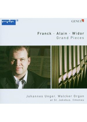Alain; Franck; Widor: Organ Works