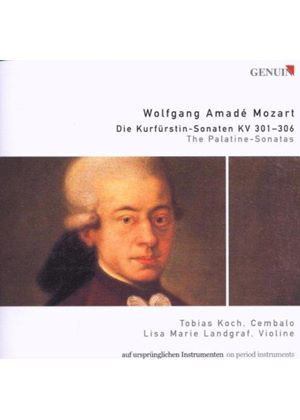 Mozart: Violin Sonatas K301-306. Andante and Fugue, K405
