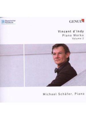 Vincent DIndy - Piano Works Vol. 2 (Schafer) (Music CD)