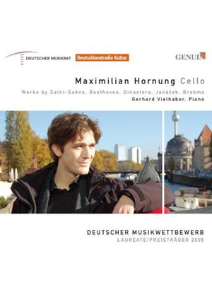 VARIOUS COMPOSERS - Works For Cello And Piano (Vielhaber, Hornung)