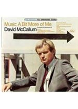 David McCallum - Music - A Bit More Of Me (Music CD)