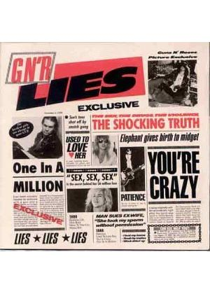 Guns N Roses - GnR Lies (Music CD)