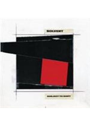 Solvent - Subject To Shift (Music CD)