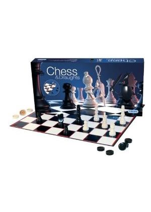 Gibsons Games - Chess and Draughts Set