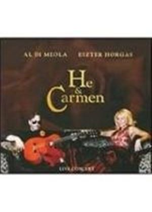 Al Di Meola & Eszter Horgas - He And Carmen (Music CD)
