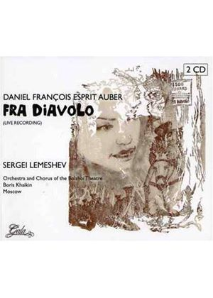 Auber - FRA DIAVOLO (SUNG IN RUSSIAN) 2CD