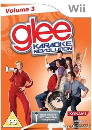 Karaoke Revolution: Glee - Volume 3 (With Microphone) (Wii)