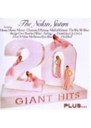 Nolan Sisters (The) - 20 Giant Hits/The Target Recordings (Music CD)