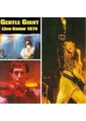Gentle Giant - Live In Rome (Music Cd)