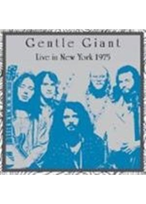 Gentle Giant - Live In New York (Music Cd)