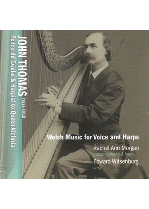 John Thomas: Welsh Music for Voice and Harps (Music CD)