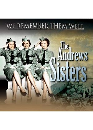 Andrews Sisters (The) - We Remember Them Well (Music CD)
