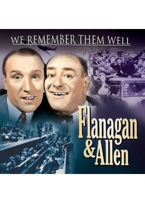 Flanagan & Allen - We Remember Them Well (Music CD)