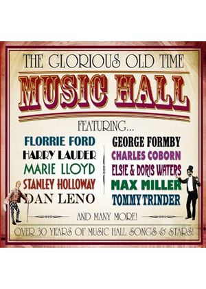 Various Artists - Glorious Old Time Music Hall (Music CD)