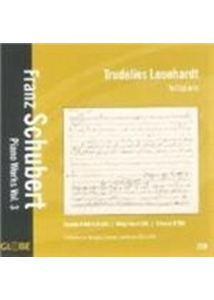 Franz Schubert - Piano Works Vol. 3 (Leonhardt) (Music CD)
