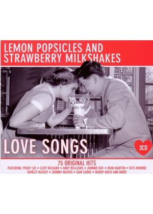 Various Artists - Lemon Popsicles and Strawberry Milkshakes - Love Songs (Music CD)