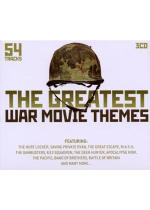 Various - The Greatest War Movie Themes (Music CD)