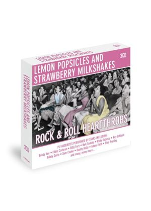 Various Artists - Lemon Popsicles And Strawberry Milkshakes : Rock & Roll Heart Throbs (Music CD)