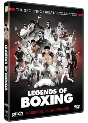 Sporting Greats Collection - Legends Of Boxing - Robinson, Ali And Frazier