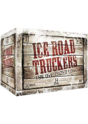 Ice Road Truckers The Oversized Load - 26 DVD + Book