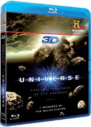 The Universe - 7 Wonders of the Solar System in 3D (Blu-ray 3D)