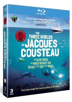 The Three Worlds of Jacques Cousteau (Blu-Ray)