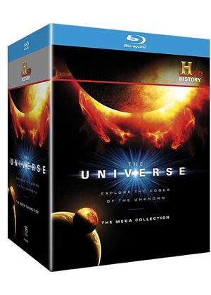 The Universe - The Mega Collection: Series 1-5 (Blu-Ray)