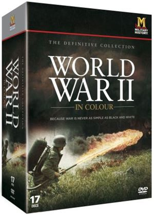 World War II in Colour: The Definitive Collection (17-Disc Box Set)