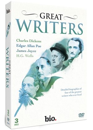 Great Writers: Dickens, Poe, Joyce, Wells