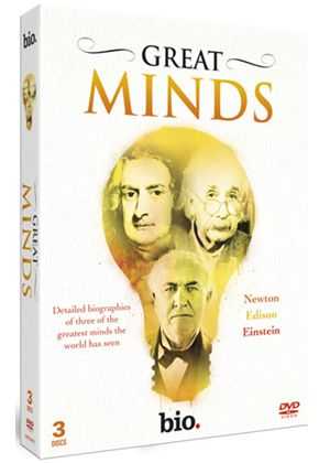 Great Minds: Newton, Edison, Einstein
