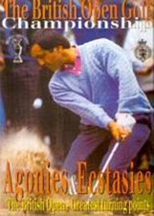 British Open Golf Championship - Agonies And Ecstasies
