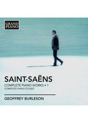 Saint-Saëns: Piano Works, Vol. 1 (Music CD)