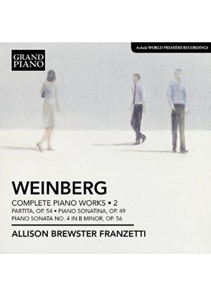 Mieczyslaw Weinberg: Complete Piano Works, Vol. 2 (Music CD)