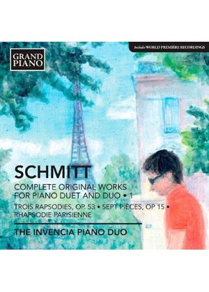 Florent Schmitt: Complete Original Works for Piano Duet and Duo, Vol. 1 (Music CD)