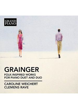 Grainger: Folk Inspired Works for Piano (Music CD)