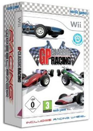 GP Classic Bundle with Racing Wheel (Wii)
