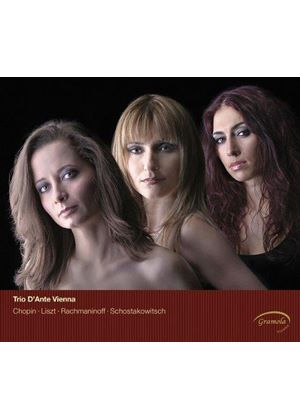 Chopin, Liszt, Rachmaninov, Shostakovich: Piano Trios (Music CD)