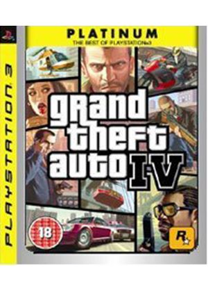 Grand Theft Auto IV - Platinum (PS3)