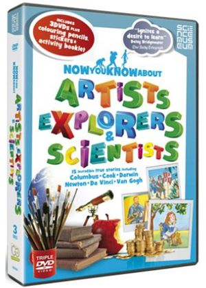 Now You Know About - Artists, Explorers & Scientists