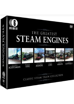 The Greatest Steam Locomotives (6 Discs)