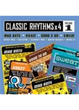 Various Artists - Classic Rhythms x 4 Vol.1 (Mad Ants/Krazy/Good 2 Go/Sweat) (Music CD)