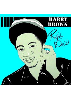 Barry Brown - Right Now (Music CD)