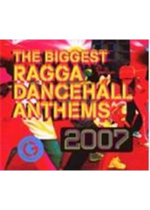 Various Artists - Biggest Ragga Dancehall Anthems 2007 [CD + DVD] (Music CD)