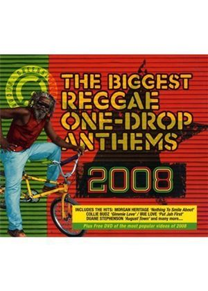 Various Artists - Biggest Reggae One-Drop Anthems 2008, The (+DVD)