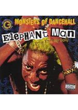 Elephant Man - Monsters Of Dancehall - Energy God (Music CD)