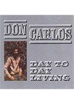 Don Carlos - Day To Day Living (Music CD)