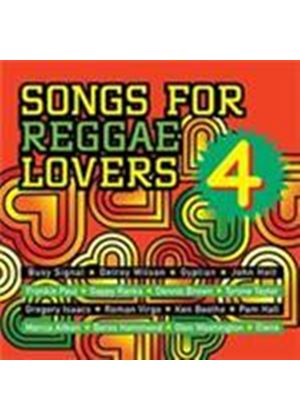 Various Artists - Songs For Reggae Lovers Vol.4 (Music CD)