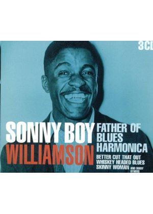 Sonny Boy Williamson - Father Of Blues Harmonica (Music CD)
