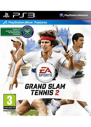 Grand Slam Tennis 2 (Move Compatible) (PS3)